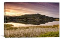 Early Morning on Loch a' Bhaile, Canvas Print