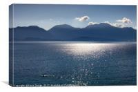 Mirabello Bay Blue Mood, Canvas Print
