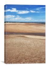 West Sands Beach, St Andrews, Canvas Print