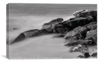 Sea-stone, Canvas Print