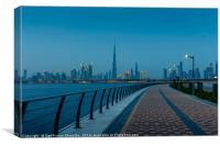 Downtown Dubai, Canvas Print