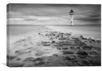 High Tide at Perch Rock, Canvas Print