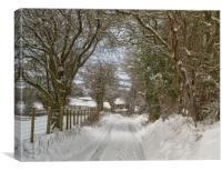 The long walk home, Canvas Print