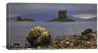 Dust at Castle Stalker