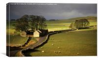 Under Derbyshire Skies, Canvas Print