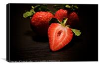 Strawberries, Canvas Print