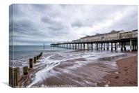 Teignmouth Pier, Canvas Print
