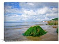 Lyme Regis Summer Seascape - Impressions, Canvas Print