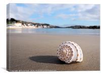 Deserted Beach - Lyme Regis, Canvas Print