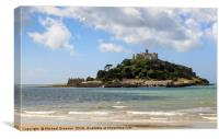 St Michael Mount, Canvas Print