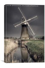 St. Benet's Windpump, Canvas Print