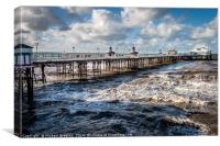 North Pier Blackpool, Canvas Print