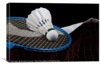 Badminton, Canvas Print