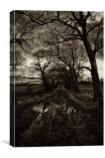 Autumn haunts, Canvas Print