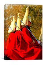 Horse Guards, Canvas Print