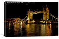 Tower Bridge of London, Canvas Print