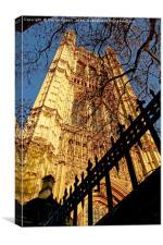 Victoria Tower, Canvas Print