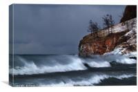 Ideal storm, Canvas Print