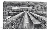 Caban Coch, Elan Valley, Canvas Print
