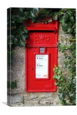 Post Box, Canvas Print