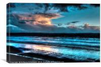 Newgale Beach Pembrokeshire, Canvas Print