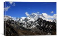 Mount Everest, Canvas Print