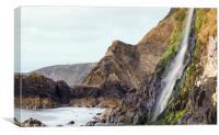 Gwalia Falls, Canvas Print