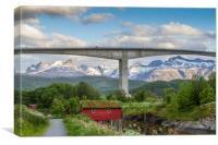 Nordic landscape, Canvas Print