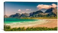 Lofoten Norway, Canvas Print