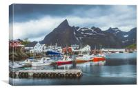 Hamnøy Lofoten, Canvas Print