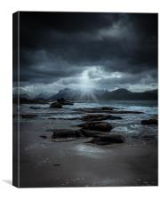 Storm rolling in, Canvas Print