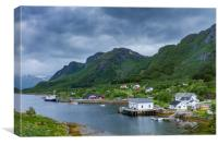 Lofoten Norway, Canvas Print