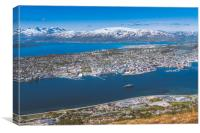 Tromsø, Paris of the north, Canvas Print