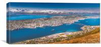 Tromsø in Norway, Canvas Print