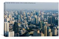 Views of Bangkok Baiyoke Sky, Canvas Print