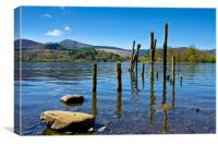 Derwentwater, Lake District , Canvas Print