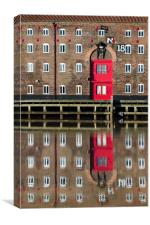 Pease Warehouse, Canvas Print