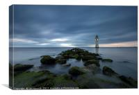 Fort Perch Rock Lighthouse New Brighton, Canvas Print