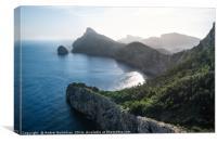Cap de Formentor, Mallorca, Canvas Print