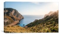 One of the bays of the Cap de Formentor, Mallorca, Canvas Print