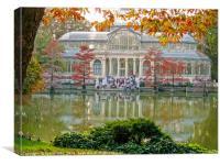 Cristal palace, Canvas Print