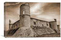 Castle of Chinchon, Canvas Print