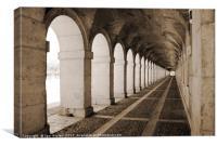Aranjuez, Canvas Print