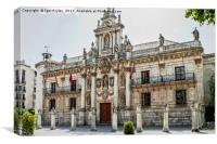 University in Valladolid, Canvas Print