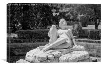 Monument Diana, Canvas Print