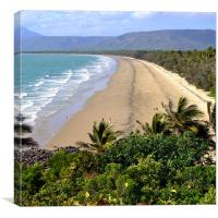 Four Mile Beach, Port Douglas, Canvas Print