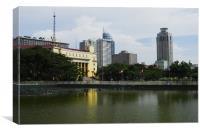 Luneta Park, Canvas Print