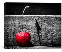 Cherrypop, Canvas Print