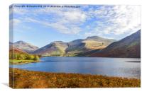 Wastwater., Canvas Print