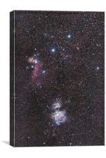 Orion Nebula., Canvas Print
